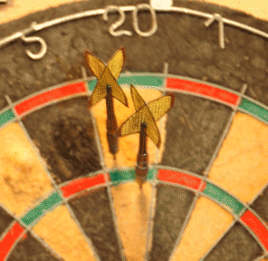 Shoot darts wisely