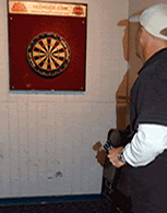 Take dart practice serious